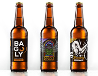 Bagoly - Beer label design