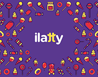 Ilatty | Helados & Candy - Branding [para Capitaine]
