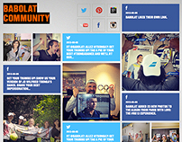 Babolat Social Networks Activation