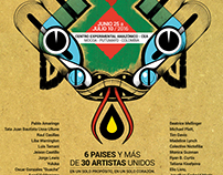 EXPOSICIÓN DE ARTE VISIONARIO.Semillas de la Anaconda.