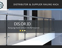 Distributor & Supplier Railing Kaca