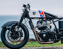 "Sinroja Motorcycles ""Two Smoking Barrels"""