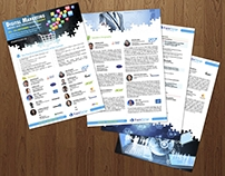 B2B brochure for Digital marketing Summit