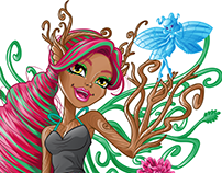 Treesa Thornwillow from Monster High