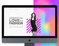 Webpage Fashion Project