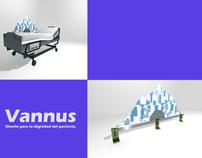 Vannus Diseño para Dignidad del paciente.