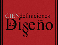 """Libro """"Cien Definiciones de Diseño"""""""