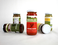 Tom Douglas: Sauce Packaging