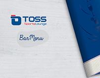 TOSS | Bar Menu