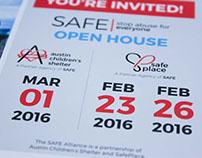 SAFE Open House Postcard