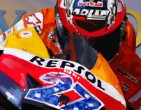 MotoGP illustrations