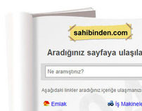 sahibinden.com 404 Page