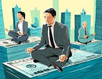 Business leaders' meditation