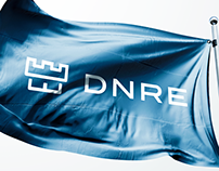 """DNRE"" logo and branding project"