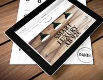 Hotel Daniel - Web Design