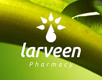 Larveen Pharmacy Logo