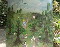 utopian vision painting