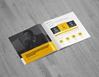 Square Brochure / Catalog Mock-Up