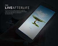 Live After Live App UI Design