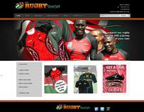 Kenya Rugby Shop Website