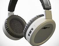 Free 3D model bluetooth headphones