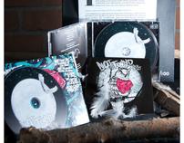 NOTFOUND BLACK VELVET CD ARTWORK AND MERCHANDISE