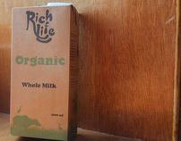 Rich Life Milk Carton Redesign