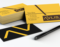 Avlis Branding Business Card Design