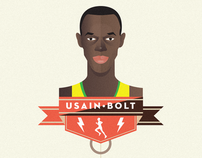 Usain Bolt Infographic