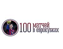 100 eurocup match Messi