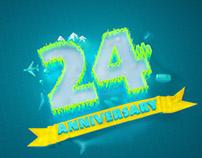 24th birthday anniversary