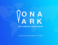 Ona Ark Branding, Website UI Design