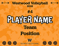 Volleyball Participation Award