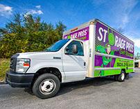 Storage Pros: Truck Wrap