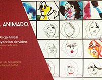 Animation, portrait