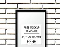 FREE - Photo Frame Mockup Template