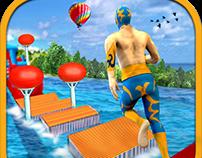 Stunt man Water park