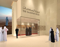 MANARAT AL SAADIYAT : EXHIBITION GRAPHICS