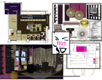 Flirt Nail Lounge, 100 Fruitvale Village, Oakland ,CA