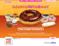 Create Dunkin's Next Donut Contest