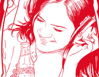 Design party kits for Coca-Cola company Spain