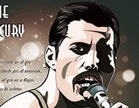 Freddie Mercury es parte de Íconos de la Música
