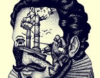 Miguel de Cervantes / Illustration