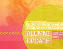 Craft/Material Studies Alumni Update Poster