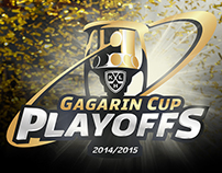 Redesign logo KHL Playoffs Gagarin Cup '14/15