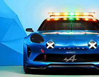 /ALPINE / MONACO_2017 livery & Safety car