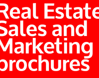 Real Estate Sales and Marketing brochures