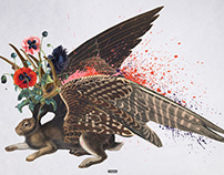 ELIASH STRONGOWSKI - Bestiary collages (2013-17)