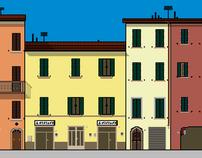 Italian Pixel Art - Concept