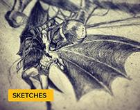 Sketchbook + Making of Videos